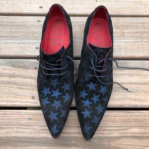 JEFFREY WEST Sylvian Gibson Starnight Lace Up Shoe